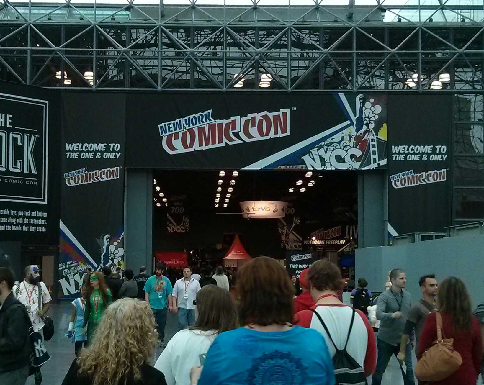 This year's NYCC was notable in a number of ways. Perhaps the primary one is that the folks behind NYCC decided that BrainLazy didn't count as a media outlet anymore. […]