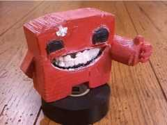 To celebrate the launch of Super Meat Boy on XBLA I wanted to crank out a 3D model of Super Meat Boy on our new 3D printer.  The first phase […]