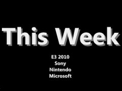 For those of you without the time, energy, or attention span for the podcast, we present the video edition. We are unfortunately one man shy this time, but with E3 and the flood of news it has brought there is plenty for Phawx and I to discuss. For PS3 we discuss the Move. Nintendo's 3DS made an impression on us as well. Finally Microsoft gives us the Kinect to chew on. As always, check out the podcast for an hour of material that didn't make the cut for the video.