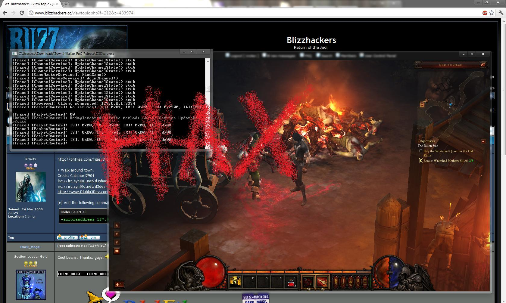 Diablo 3 Beta Hacked. Run Your Own Server To Play The Beta ...