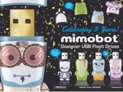 Well, the week of Mimobot is over, and we have a winner. Our thanks to all of the great suggestions we got... and thanks to all of  you who were helpful enough to inform us that you really wanted to win. (Thanks especially to the people who didn't read the rules and just spammed comments like crazy.)